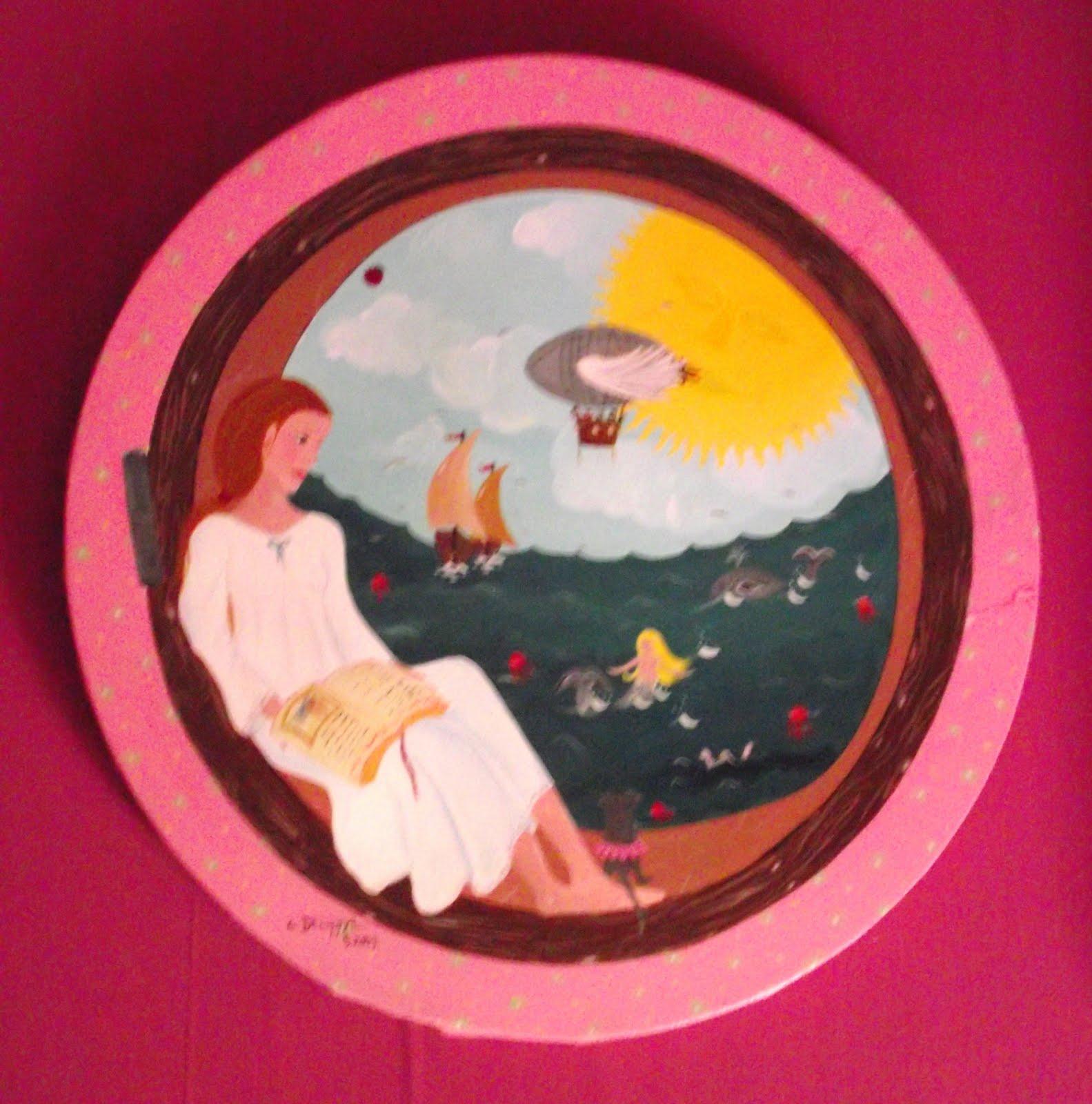 Corinne delhaye peinture tableaux de l 39 ann e 2009 for Fenetre 50x50