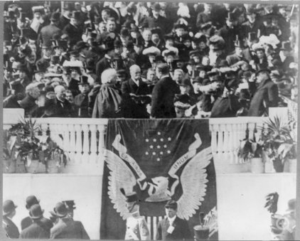 an analysis of the theodore roosevelt inaugural address Theodore roosevelt inaugural address saturday, march 4, 1905 the energetic republican president had taken his first oath of office upon the death of president.