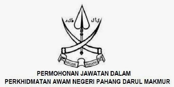 Jawatan Kerja Kosong Suruhanjaya Perkhidmatan Awam Pahang (SPANP) logo www.ohjob.info januari 2015