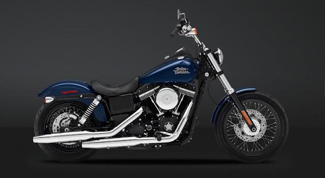 Harley-Davidson Street blue Bob HD Wallpaper: