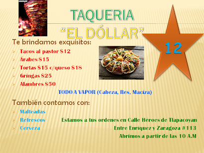 "Taqueria ""El Dolar"""