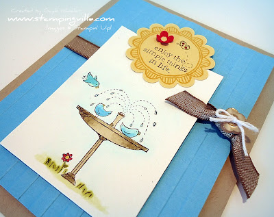 Stampin' Up! Touch of Kindness Greeting Card
