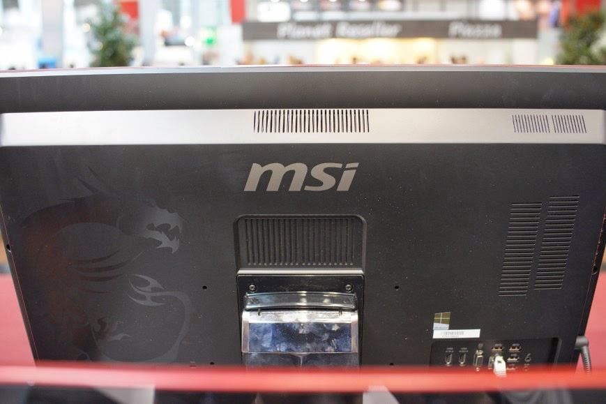 задняя крышка моноблоков MSI Gaming AG270 и AG240