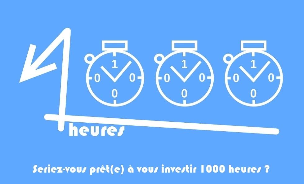 1000 heures