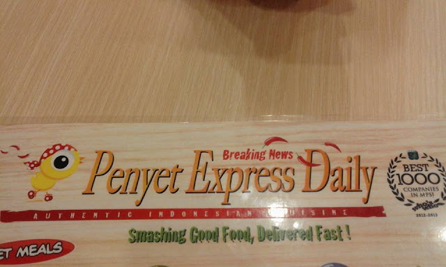 Penyet Express Daily di Sunway Putra Mall