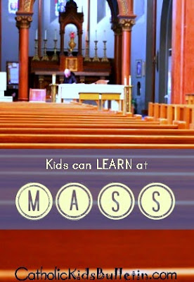 Catholic Kids Bulletin, Help Kids LEARN at Mass! FREE PRINTABLE