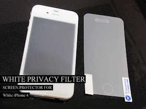 White Privacy Filter