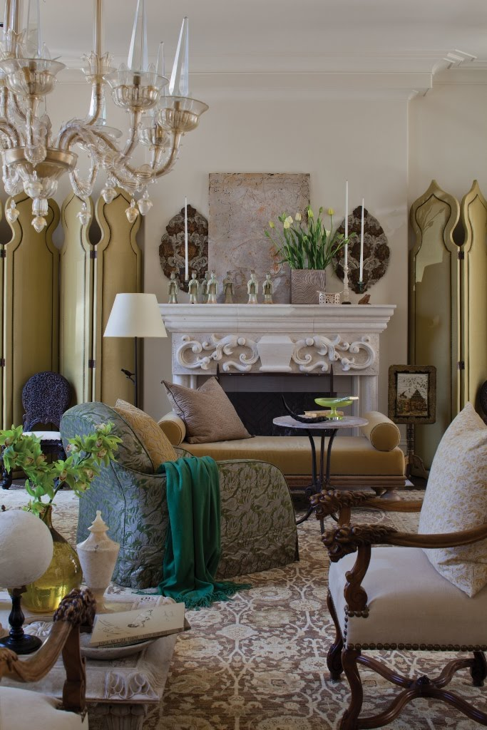 The Peak Of Chic Fortuny Interiors