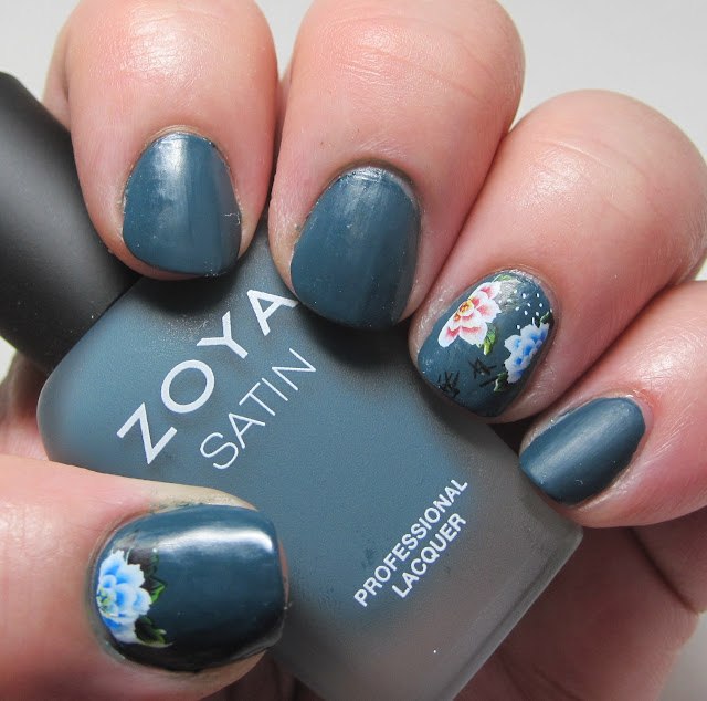 Zoya Dagmara with water decals