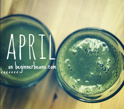 christian green living, green smoothies, earth day, earth month