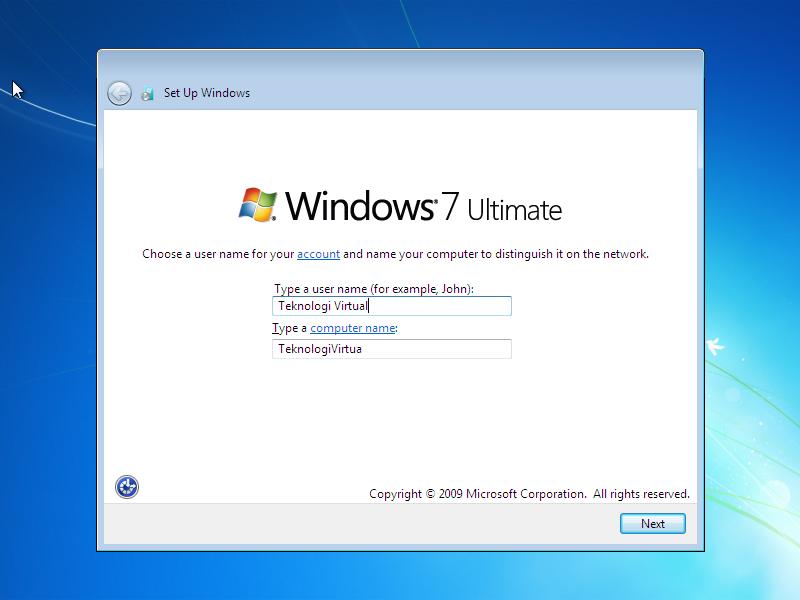 Cara Install Windows 7 (Lengkap Dengan Gambar) 9