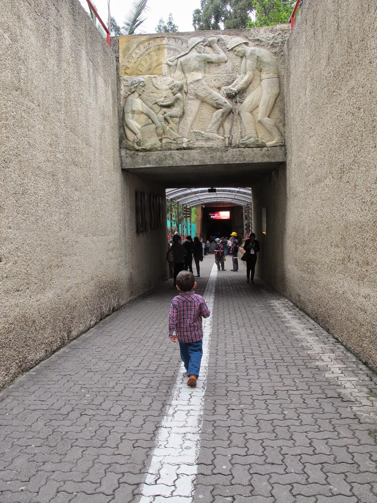 viagem com criança e bebê para a Colombia Catedral de Sal Zipaquirá