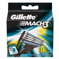 Gillette Mach3 Blades - 8 Cartridges worth Rs. 649 at Rs. 440 at amazon.in