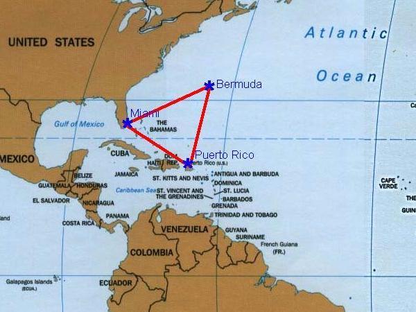 Secretos Del Oceano El Triangulo De Las Bermudas