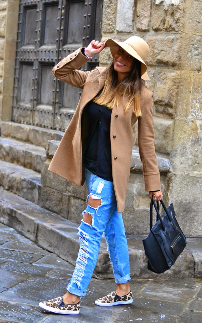 outfit beige nero