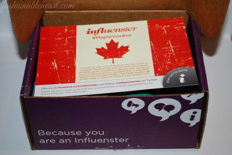 Influenster MapleVoxBox