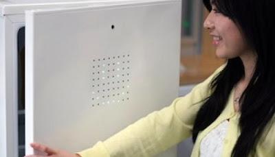 احدث الابتكارات : اضحك للثلاجة...تفتح لك ابوابها !!!!