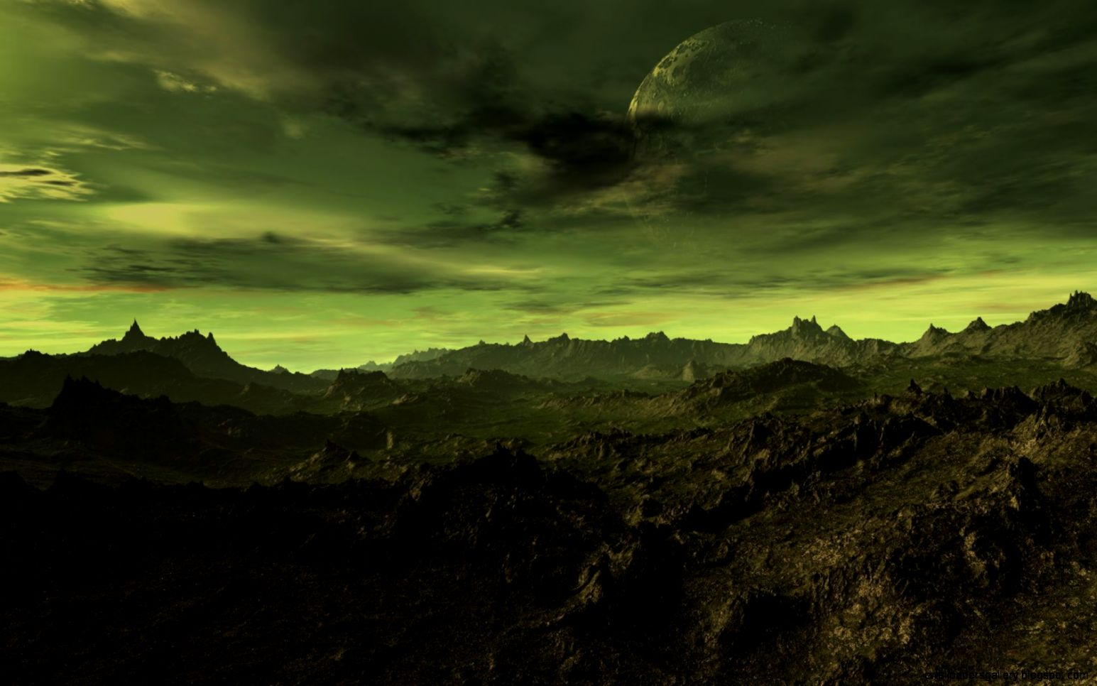 Alien Planet Wallpapers For Desktop Background Earth City Cool