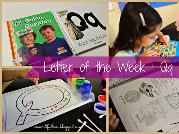 Letter of the Week : Qq