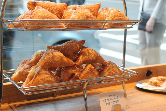 Apple turnovers at Flour, Too cookbook launch party