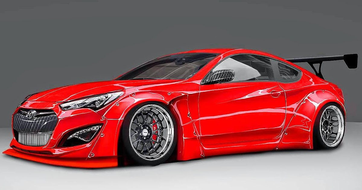 Carwp Teaser Btr Blood Type Racing Hyundai Genesis Coupe