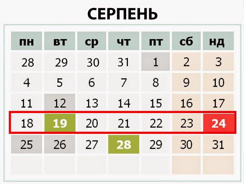 Україна - події тижня 18-24 серпня 2014р