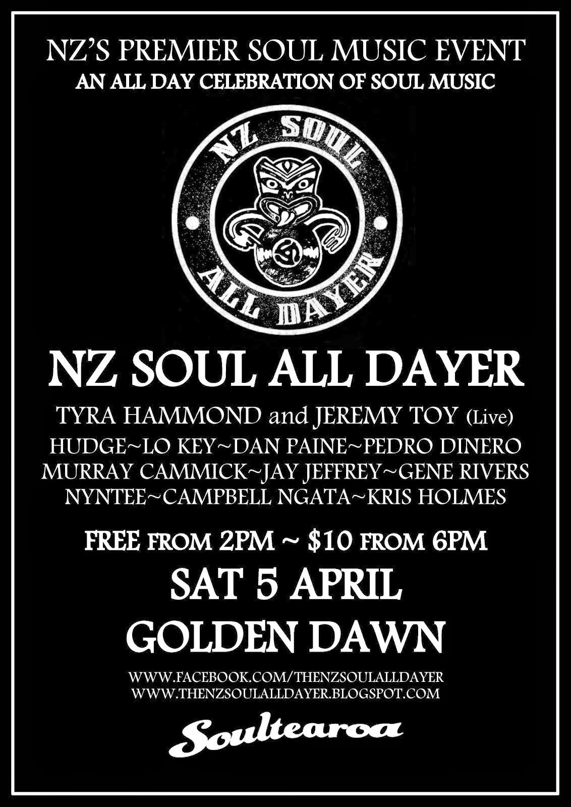 NZ Soul All Dayer #4