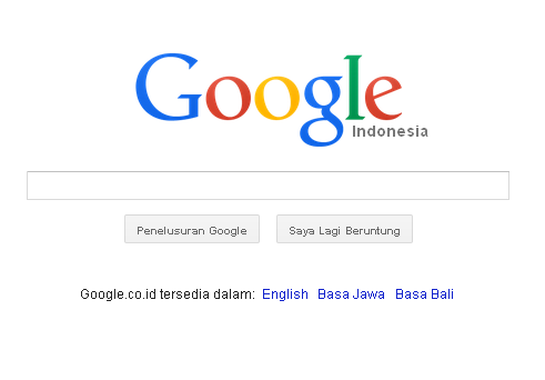 Mengembalikan Default Browser Search Engine