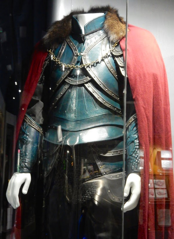 Hollywood Movie Costumes and Props Luke Evans film costume from Dracula Untold on display ...