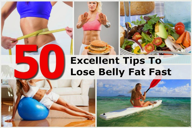 50 Best Ways to Lose Stomach Fat Fast - DIY Craft Projects