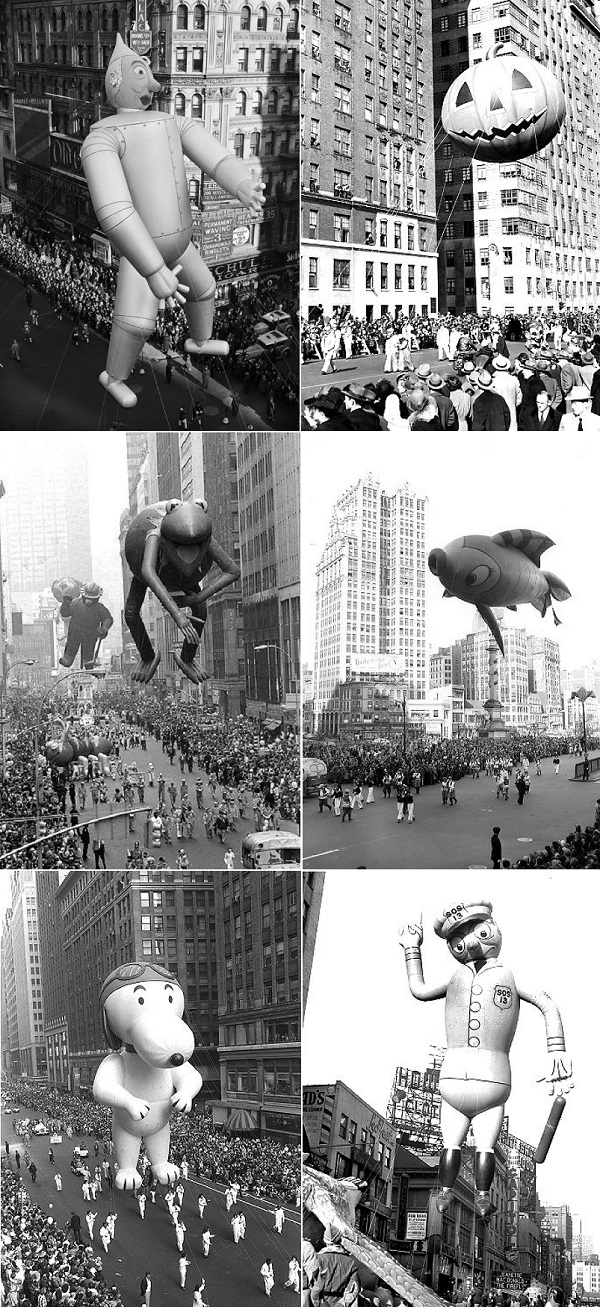 With Thanksgiving Only 3 Weeks Away How About A Little Look Back At The Epic Macys Parade Balloons Through Decades Showcasing Fun Started In