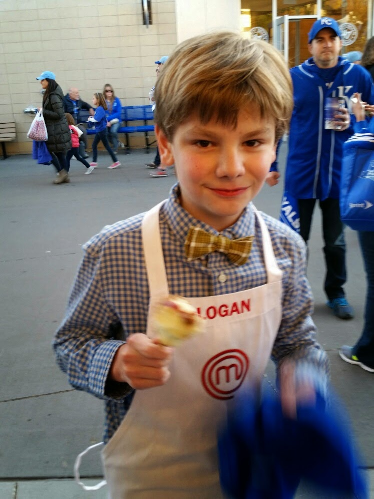 Logan Guleff MasterChef Junior  Kansas City Royals
