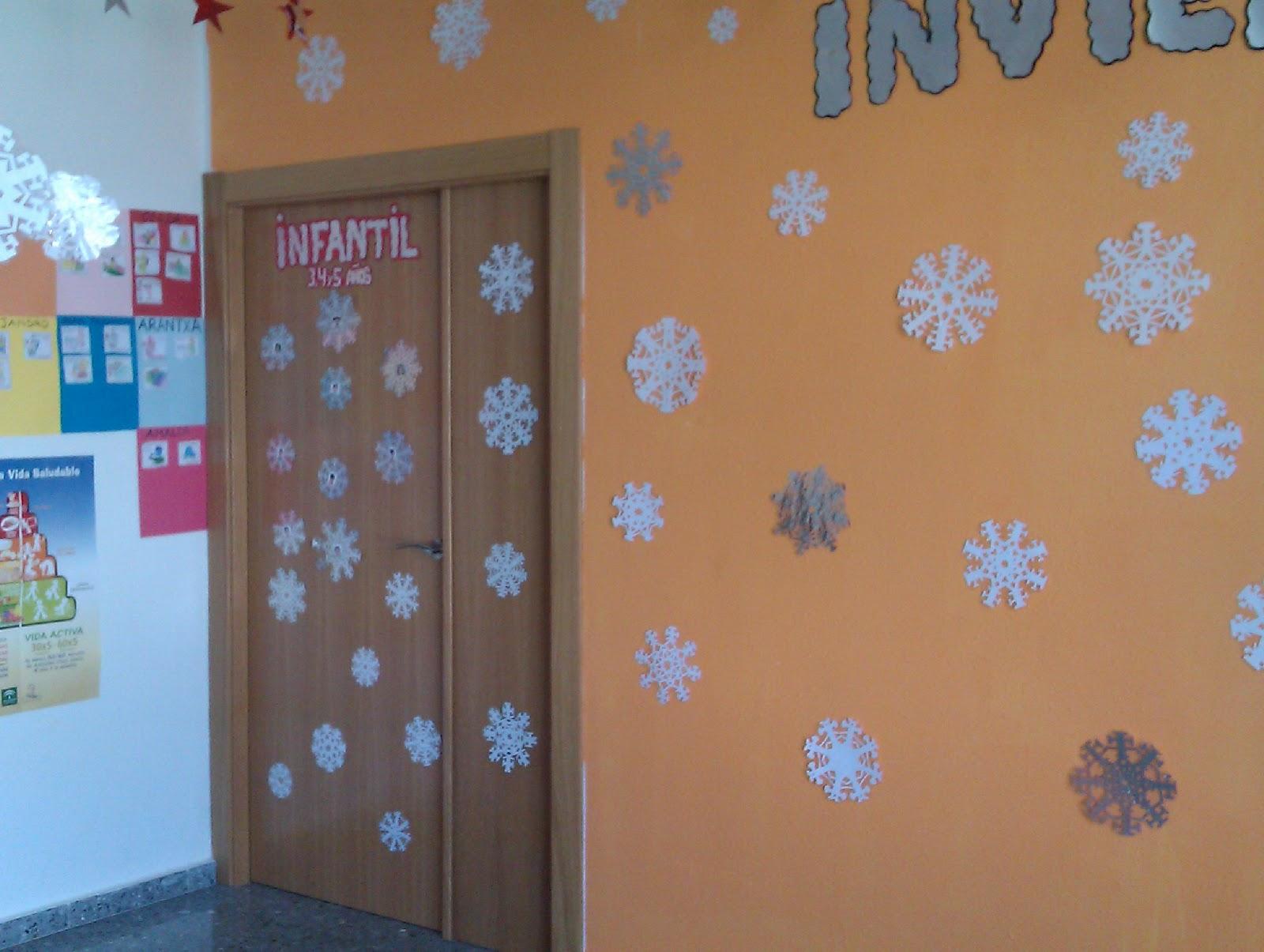 decoracion invierno clase