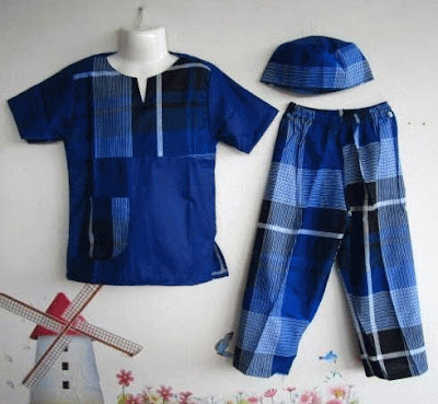 model baju koko anak labella