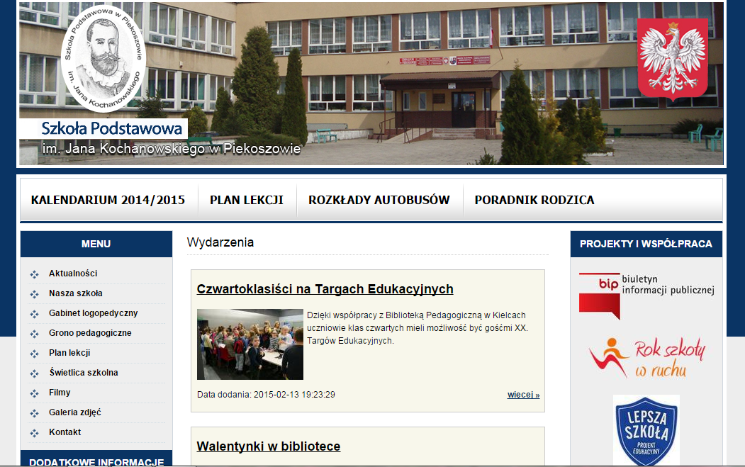Strona naszej szkoły