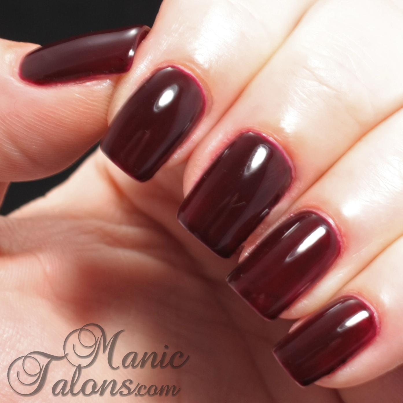 IBD Just Gel Polish Haute Frost Collection Dare to be Decadent Swatch