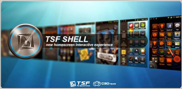 TSF Shell 3D Launcher APK