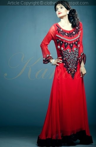 Designer Clothing 2015 Suman Ali Formal wear