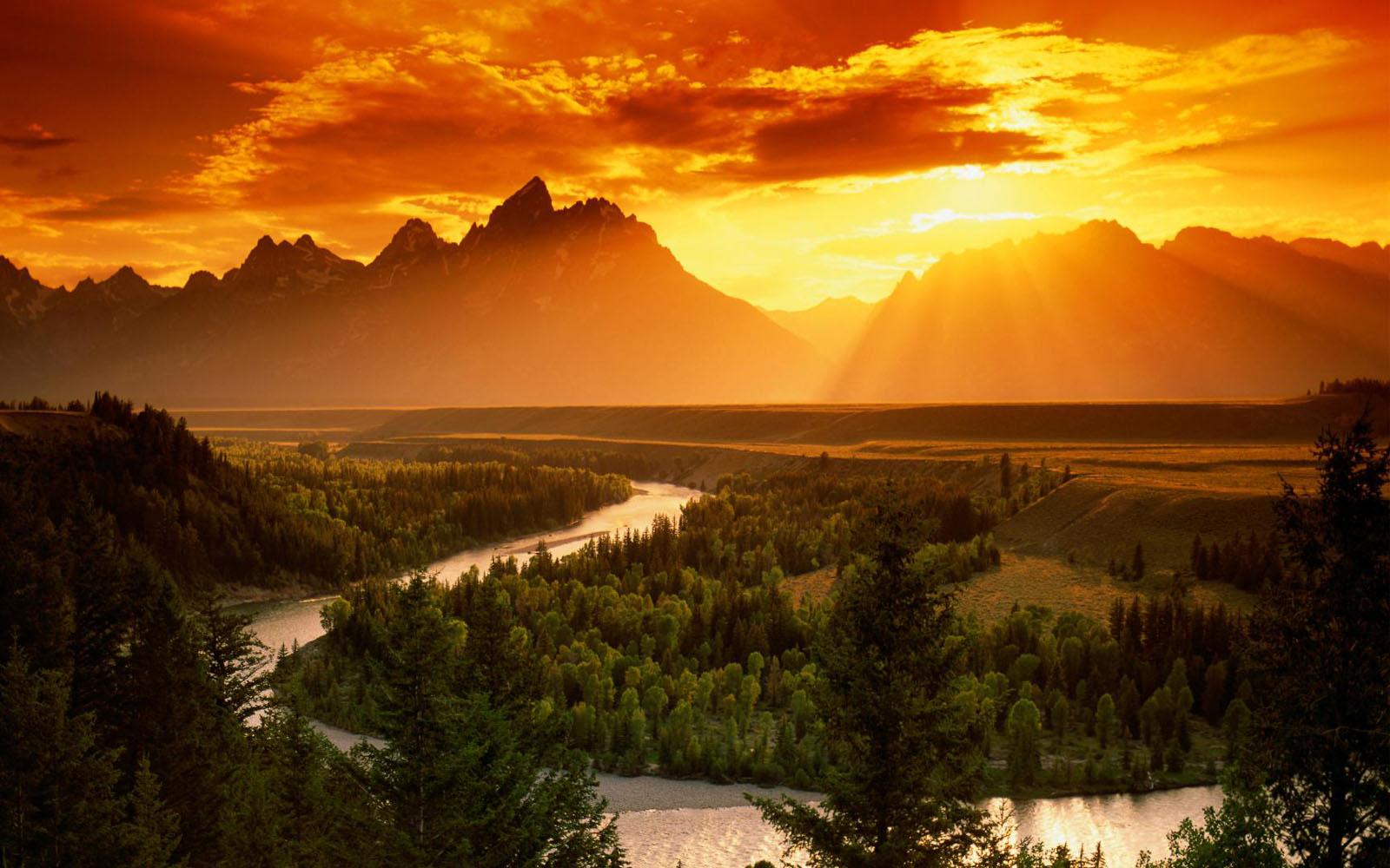 Wallpapers Snake River In Grand Teton National Park