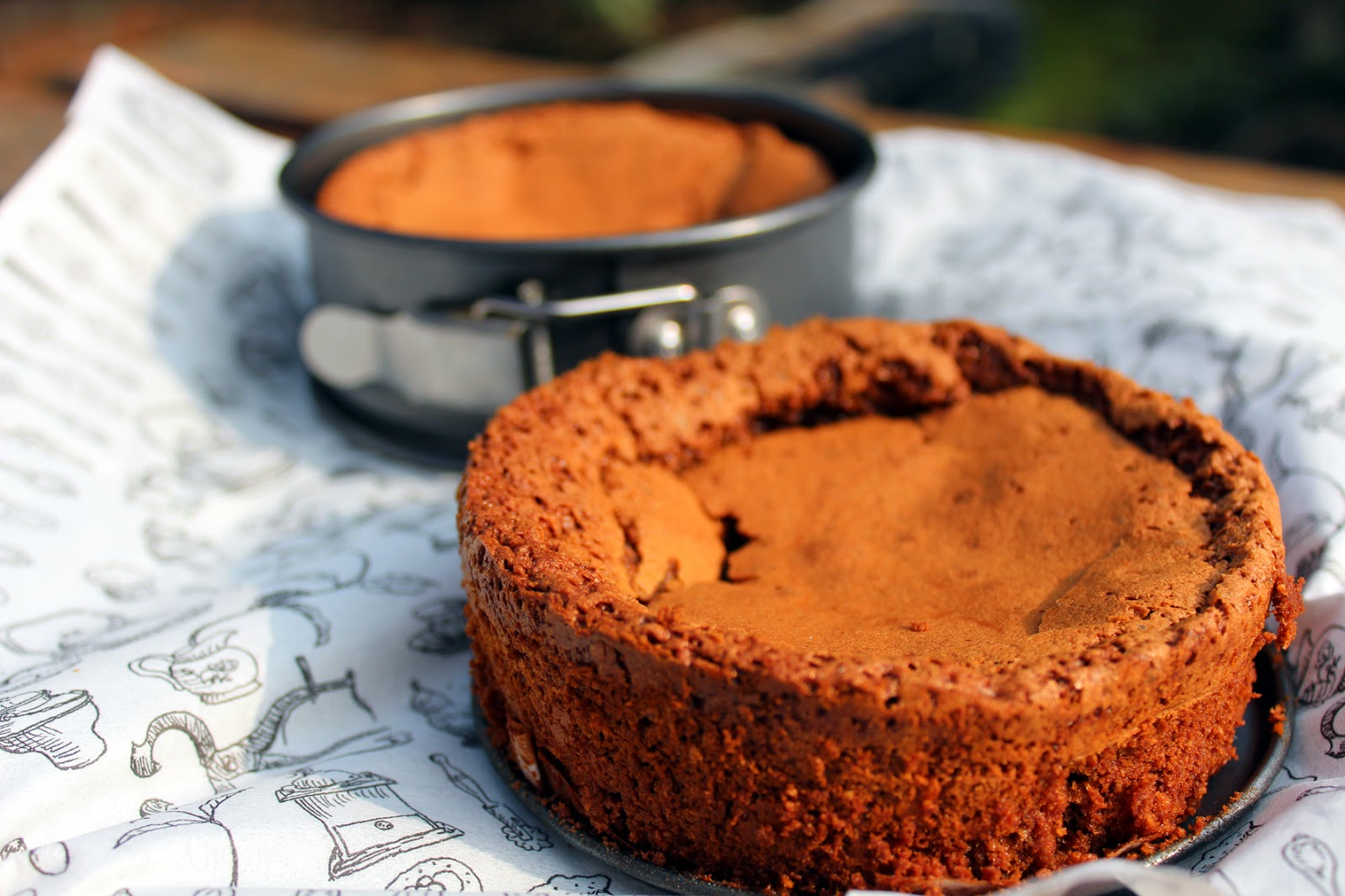 Flourless Chocolate Praline Cake AKA Nutella Cake | .