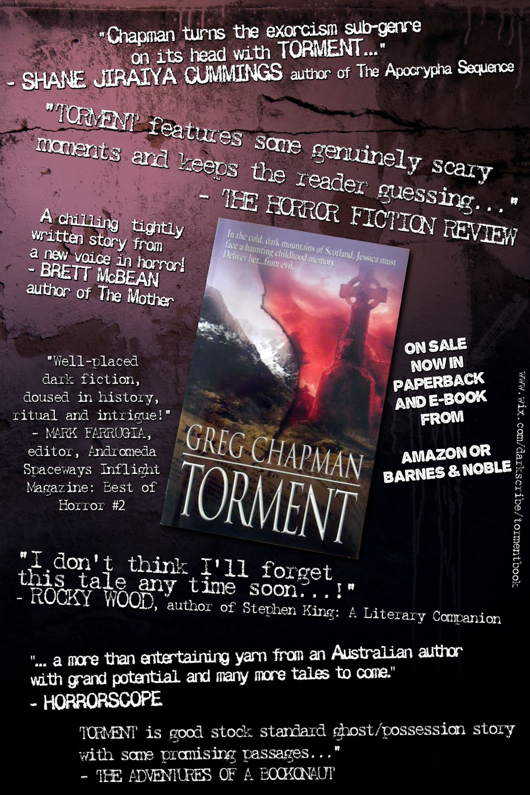 testimonial poster If you want to help promote bizarro fiction, then an easy and effective way ...