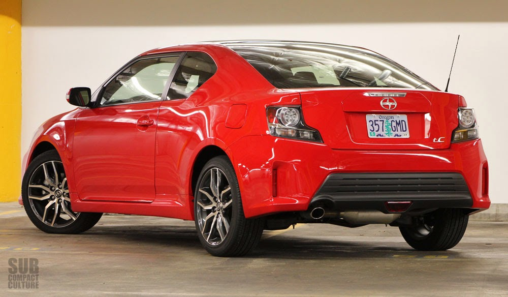 review 2014 scion tc subcompact culture the small car. Black Bedroom Furniture Sets. Home Design Ideas