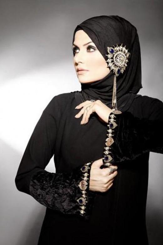 Emoo Fashion Graceful Summer Abaya In Modern Style 2012
