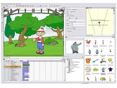 برنامج صنع الرسوم المتحركة