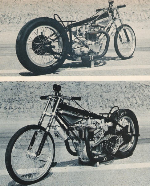 Turbo Harley Drag Race: Fast Is Fast...: Early Drag Bikes