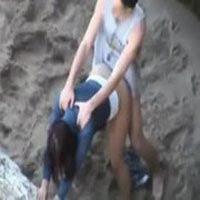 h9 Caiu na net flagra de casal fudendo na praia