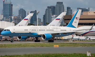 us air force 757 philippines