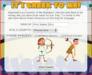 http://teacher.scholastic.com/activities/athens_games/gameGreekToMe.htm