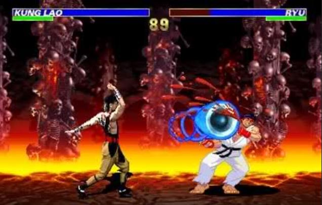 لعبة القتال الرائعة mortal kombat vs street fighter مجانا وحصريا تحميل مباشر MORTAL+KOMBAT+VS+STREET+FIGHTER+2