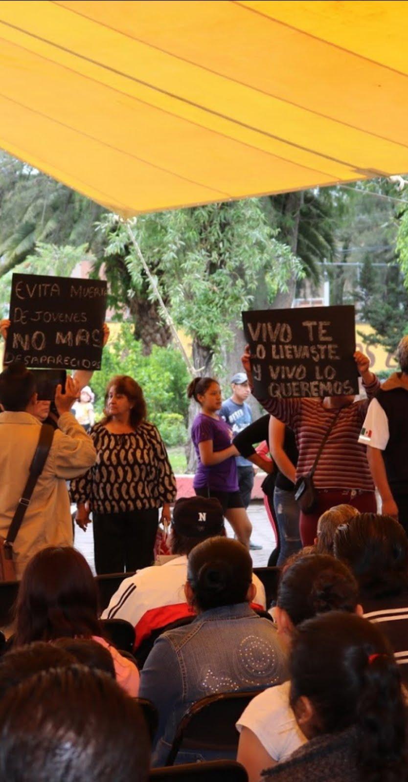 Intimidadores del delegado de Tláhuac reventaron acto con Batres